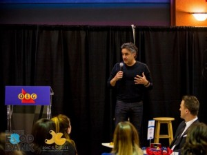 Bruce Croxon giving some great tips on business